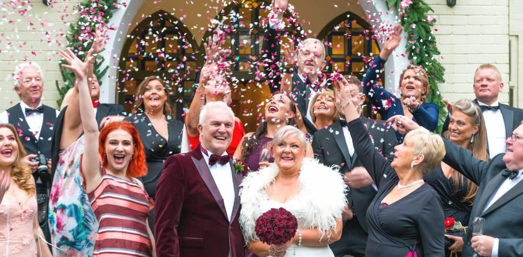 A Christmas Wedding.South Wales Winter And Christmas Weddings Glen Yr Afon