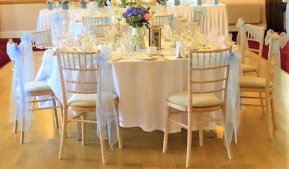 Image of Chiavari chairs